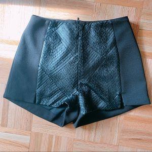 Lush Leather Shorts